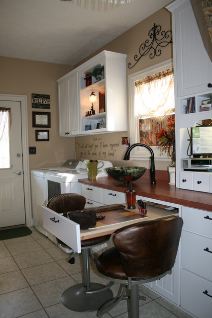 Home Based Nail Salon Businesstraditional Laundry Room