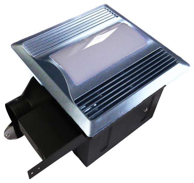 Aero Pure Fan Sbf 110 L1sn Quiet Bathroom Ventilation Fan With Light Nightlight Contemporary