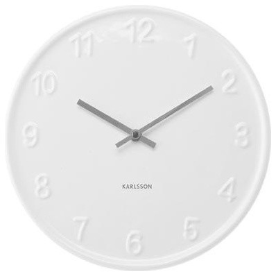 Karlsson Clock The Wooden Crate Contemporary Clocks