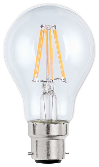 B22 7 W LED GLS Clear Dimmable Light Bulb