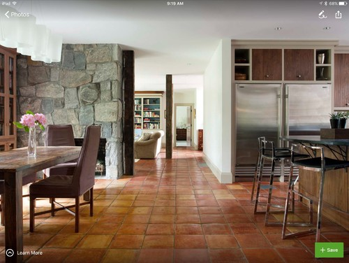 Saltillo Tile floors