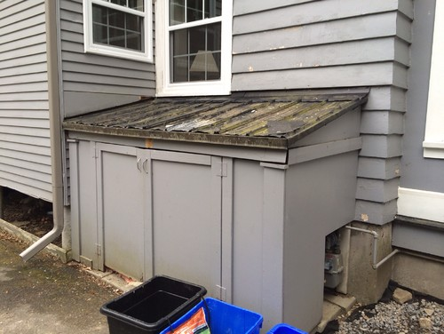 Should I Remove The Exterior Storage Shed?