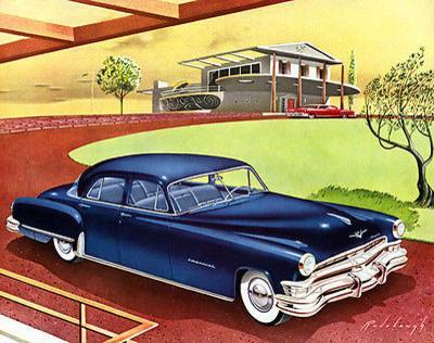 Promotional Advertising Poster 1960 Chrysler Imperial