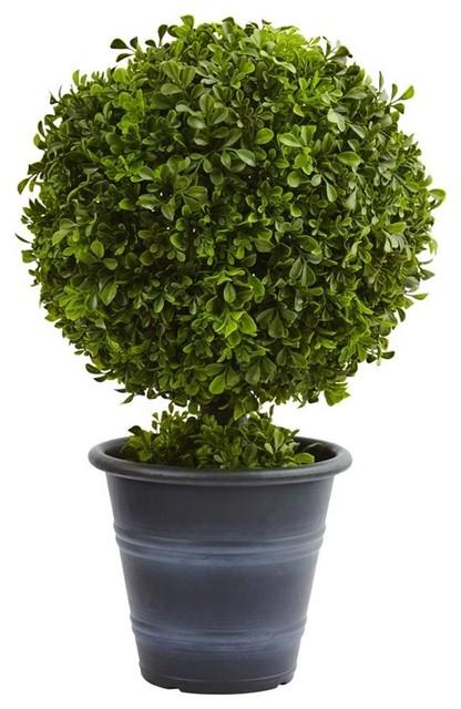 """Boxwood Ball Topiary Tree, 23"""""""
