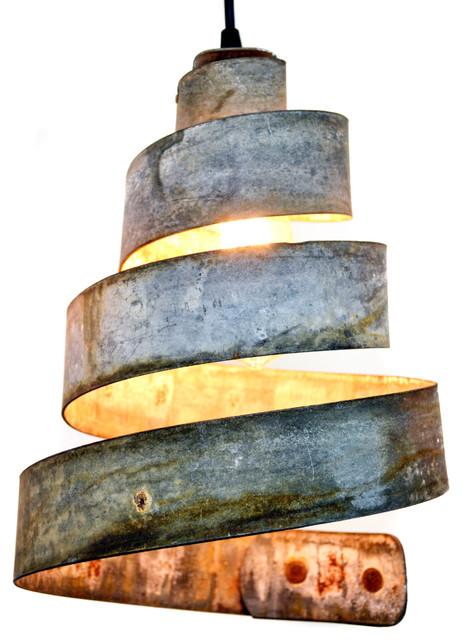 Wine Country Craftsman - Corba Lavaliere Wine Barrel Ring Pendant Light - Pendant Lighting  sc 1 st  Houzz & Industrial Pendant Lights | Houzz azcodes.com