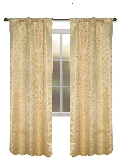 Gold Curtains What Color To Paint Walls