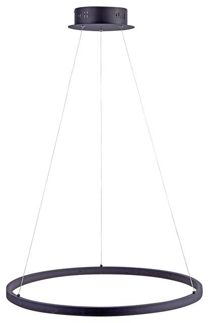 Paul Neuhaus Titus Led Pendant Ceiling Light Anthracite