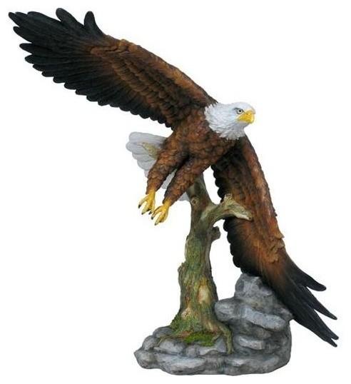 Unicorn Studios Wu74890aa Flying Eagle With Color