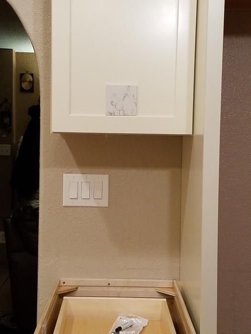 Cream Cabinets Quartz Or Granite Suggestions