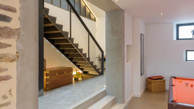 mickael tanguy architecte maison individuelle rennes 35 contemporain autres p rim tres. Black Bedroom Furniture Sets. Home Design Ideas