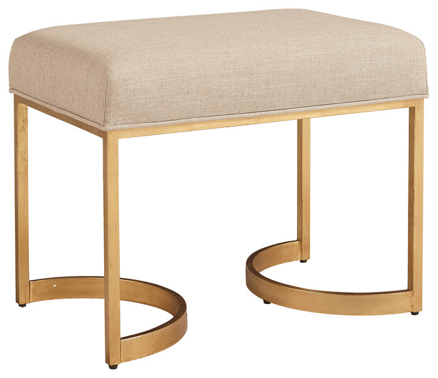 Ariana Modern Classic Metal Frame Bed End Bench.