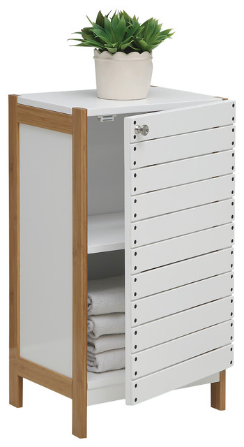 Rendition Floor Cabinet - Scandinavian - Bathroom Cabinets And Shelves - by Organize It All