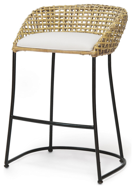 Shop Houzz Vero Barstool 24 Quot Bar Stools And Counter Stools