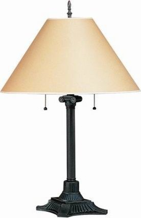 pull chain table lamp traditional table lamps by. Black Bedroom Furniture Sets. Home Design Ideas