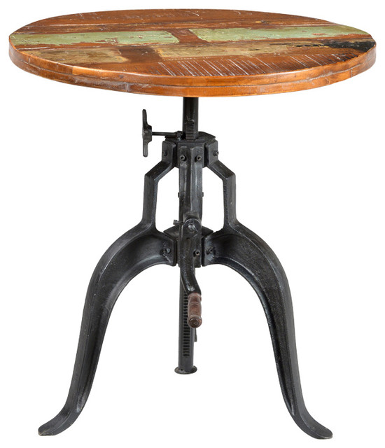 Santigo Adjustable Height Pub Table