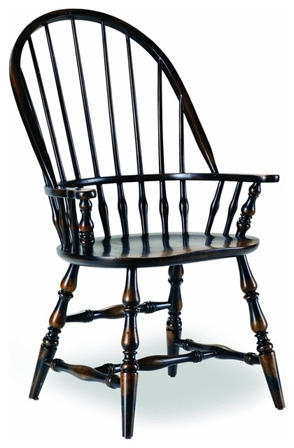 Hooker Furniture Sanctuary Windsor Chairs, Set Of 2, Arm.