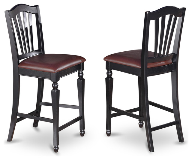 Counter Height Stools Houzz : Set Of 2 Chelsea Stools - Traditional - Bar Stools And Counter Stools ...