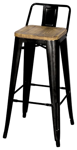 grand metal low back bar stool set black industrial white counter stools amazon height target swivel with