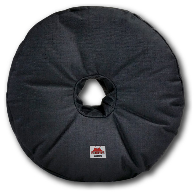 """Premier Tents 14"""" Banner Cross Base Weight Bag - Up To 50 Pounds."""