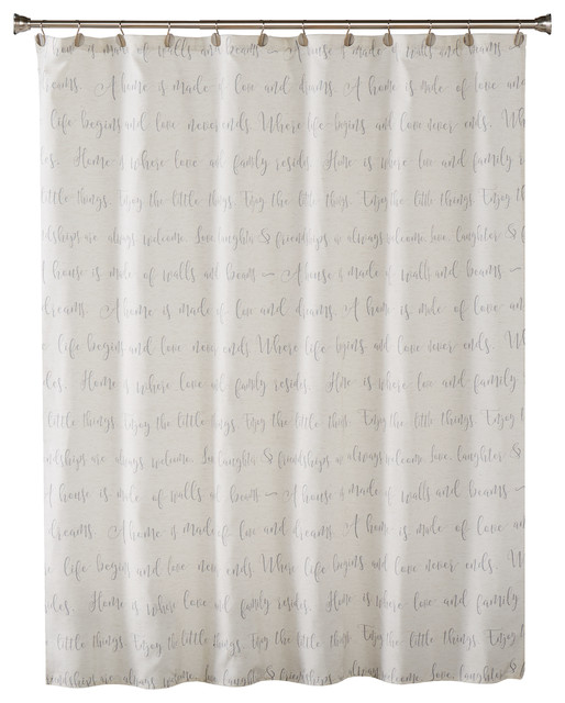 Skl Home Family Dreams Shower Curtain Contemporary Shower Curtains By Saturday Knight Limited