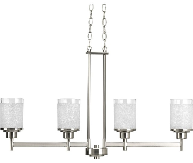 Alexa Collection 4-Light Linear Chandelier - Transitional ...