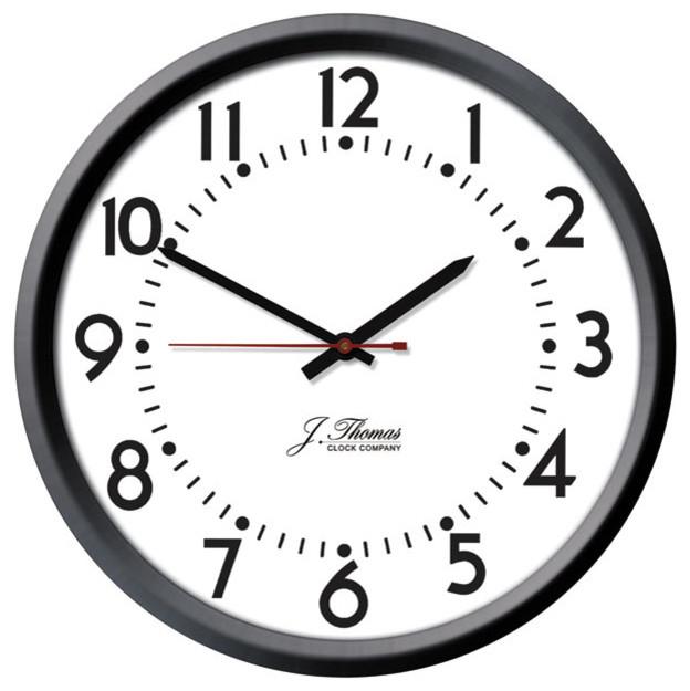 amp electric wall clock