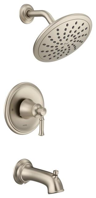 Moen Dartmoor Brushed Nickel Posi-Temp(R Tub/Shower T2283EPBN