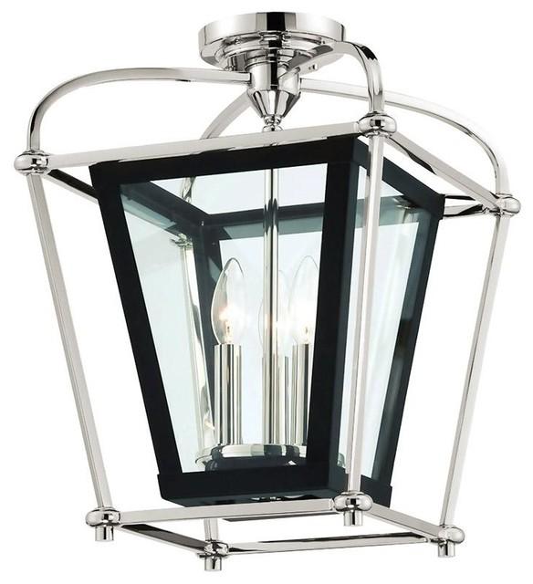 Baron 3 Light Foyer Lantern Chandelier
