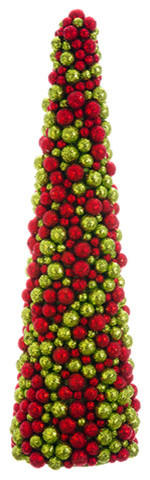 Silk Plants Direct Cone Topiary, Pack Of 2.
