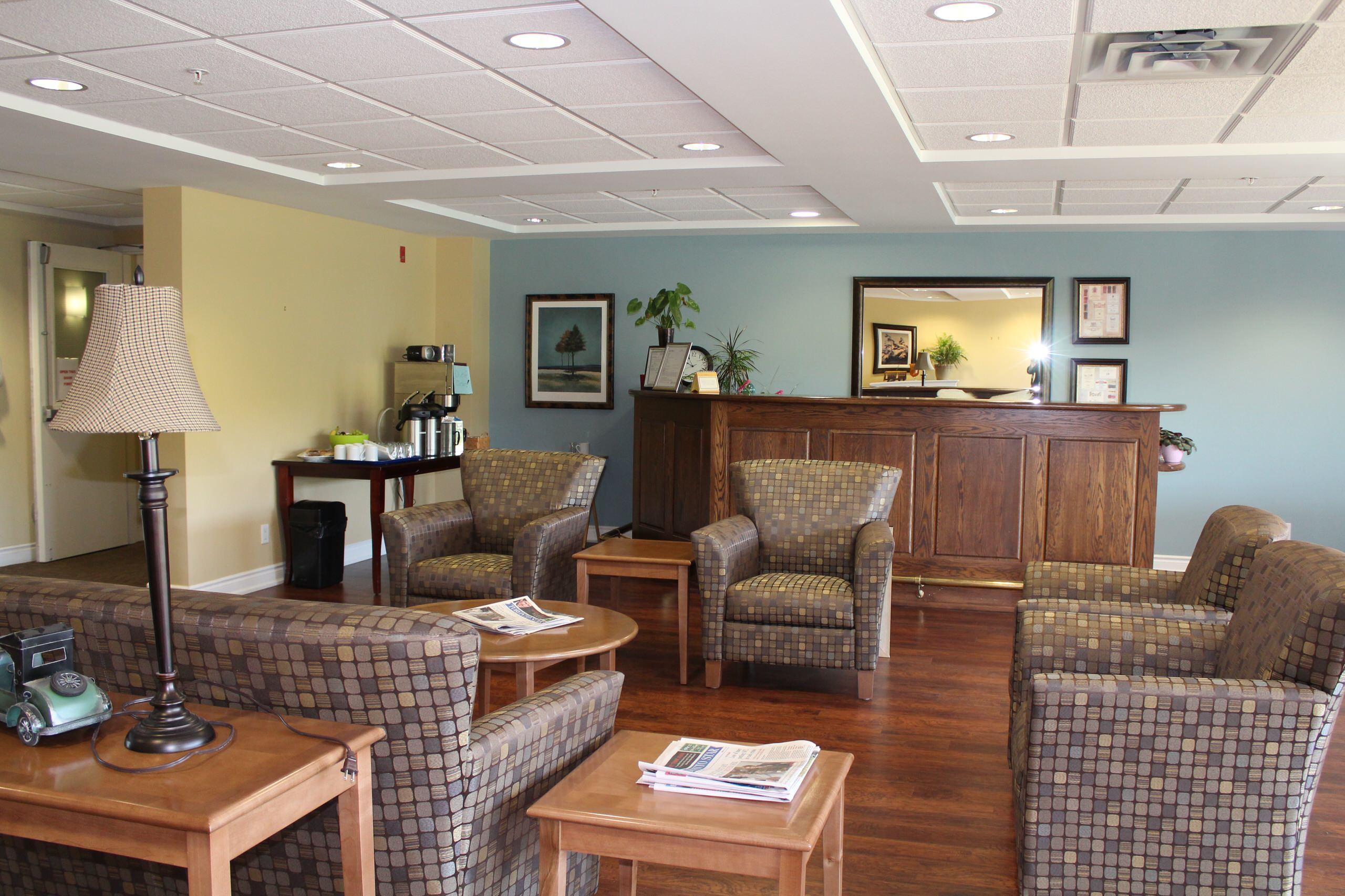 retirement community interiors- island park, campbellford
