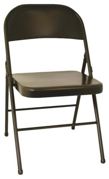 Admirable Cosco 14 711 05X 147110 All Steel Folding Chair Black Inzonedesignstudio Interior Chair Design Inzonedesignstudiocom