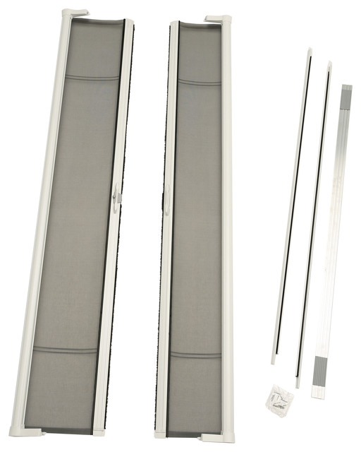 72 x96 brisa tall height double door kit retractable for 48 inch retractable screen door