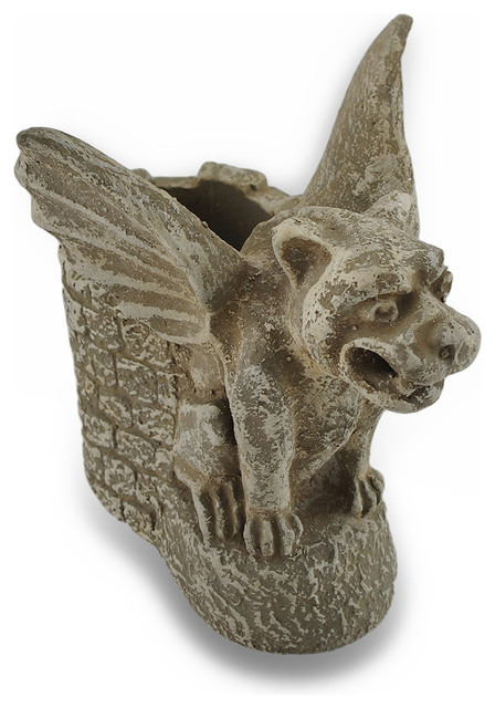 Protector Of Writing Instruments Gothic Cement Gargoyle