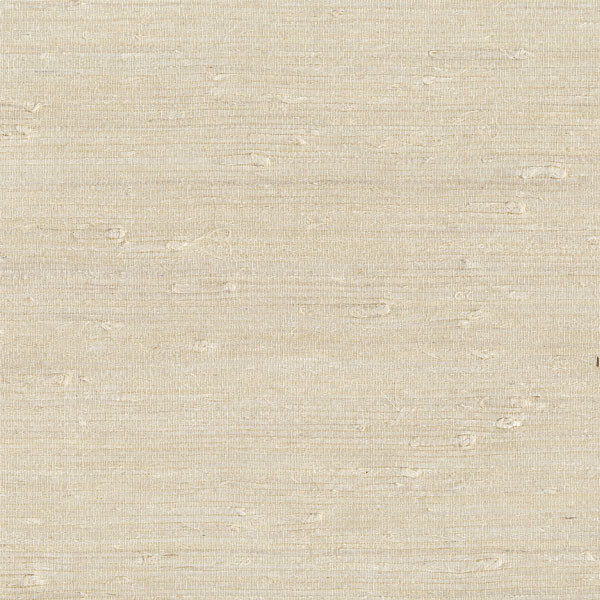 Ling Cream Grasscloth Wallpaper, Swatch