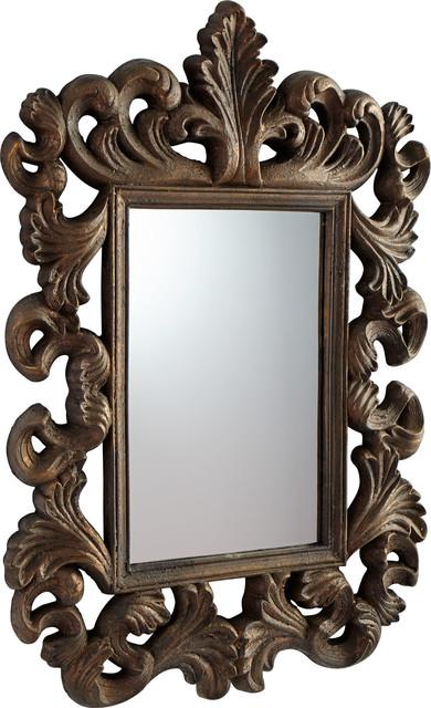 Verona Mirror, Rustic Gold.