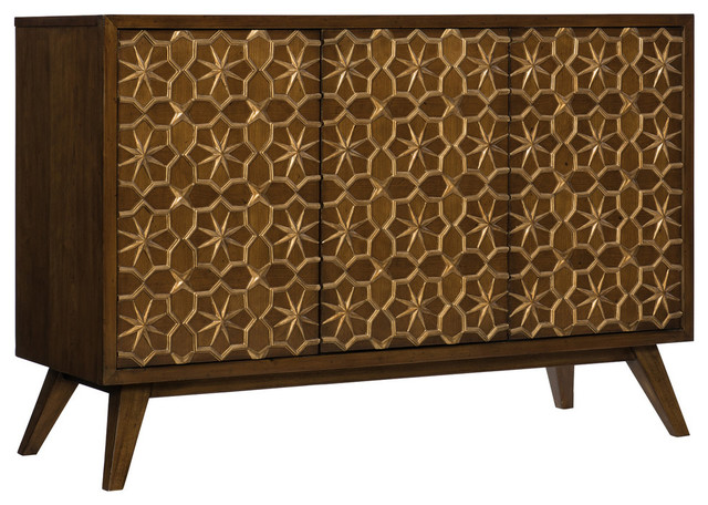 Hooker Furniture Melange Traveler Media Credenza, Medium Wood by Hooker Furniture