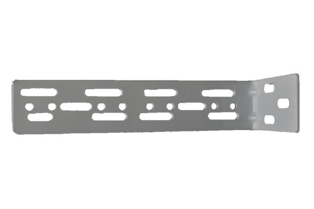 2 Ea. - Heavy Duty L Shape 90 Degree Double Bracket, 7 Inch By 2 Inch.