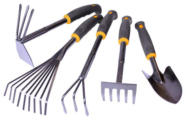 Centurion Hammerstone Garden Tool 5 Piece Set Contemporary