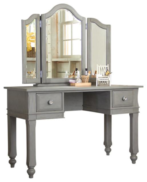 Boardwalk Vanity With Vanity Storage Mirror