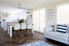 My Houzz: From Boring Brick to Hamptons Chic on a Budget