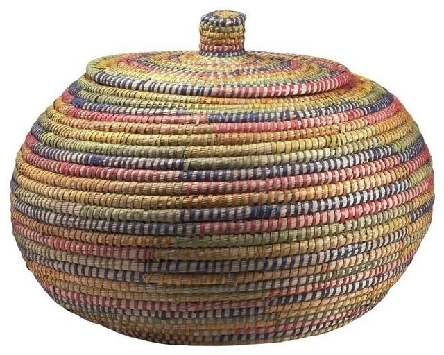 Colored Kaisa Storage Basket