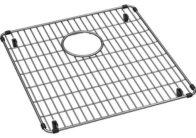 Elkay Crosstown Stainless Steel Bottom Grid, Polished Stainless Steel