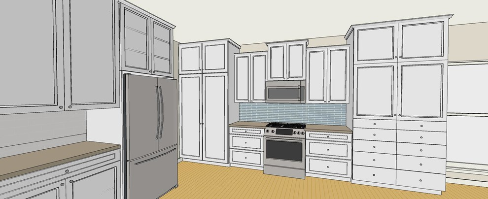 Kitchen Remodel w/ Load Bearing Wall Removal