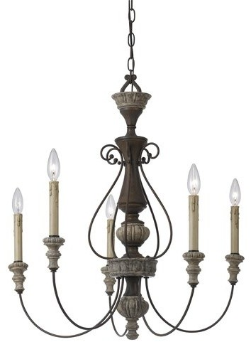 cal lighting fx 35355 5 light williams metal resin chandelier traditional cal lighting wood chandelier