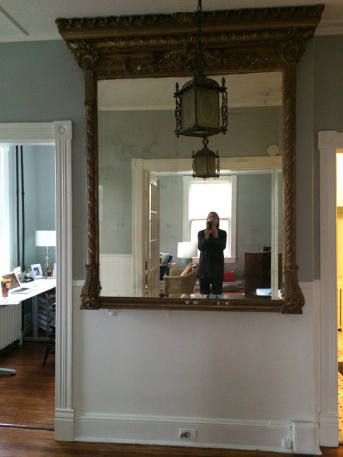 Need advice on console for large hallway mirror for I need a mirror