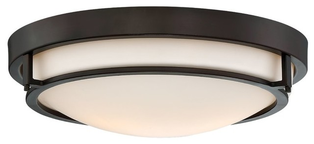 2-Light Flush Mount.