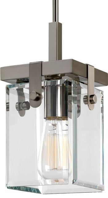 Luxury Modern Farmhouse Pendant Light Bristol Series Brushed Nickel