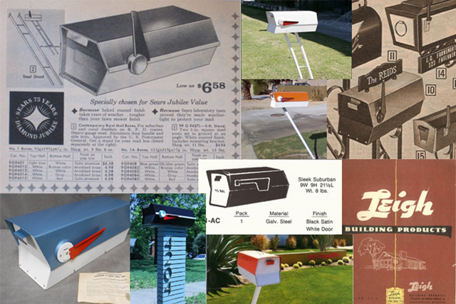 Man Makes Midcentury Mailbox Dream Come True