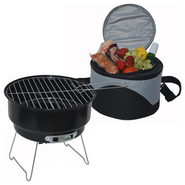 Cooler And Grill Set.
