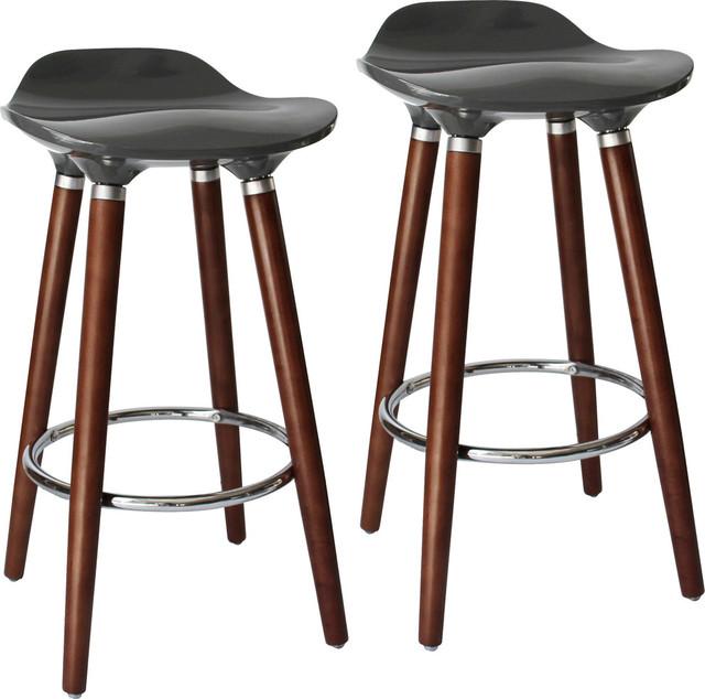 Prime Trex 26 Counter Stools Set Of 2 Gray Evergreenethics Interior Chair Design Evergreenethicsorg